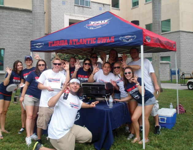 Tailgate at The Rat's Mouth