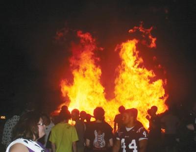 FAU Bonfire