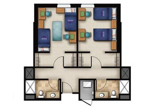 Double Floor Plan Parliament