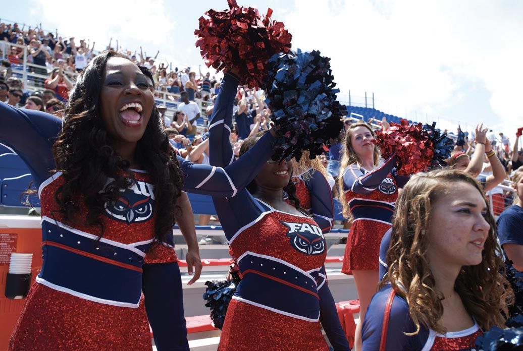 FAU Cheerleaders